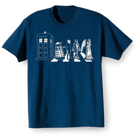 Doctor Who T-Shirt- Blue
