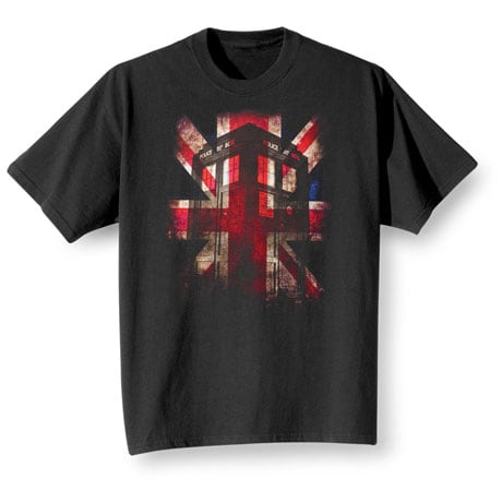 Doctor Who T-Shirt- Black