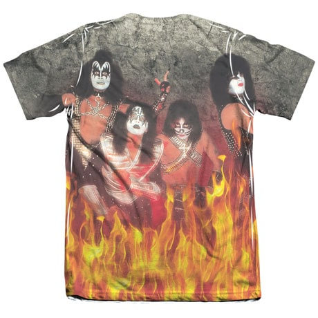 Kiss Sublimated Tee
