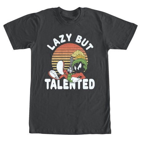 Classic Warner Bros™ Tees- Lazy