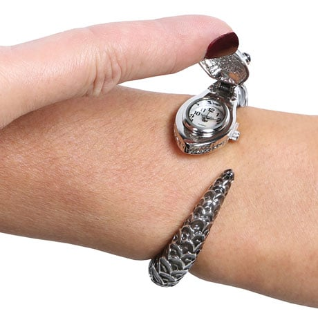 Snake Bangle Watch