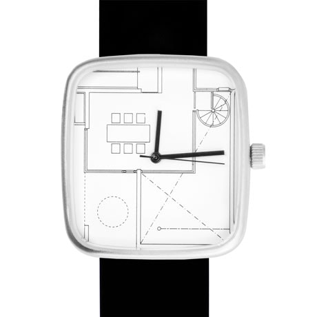 Architect Blueprint Watch