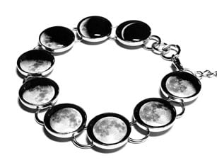 Space Bracelets- Moon Phases