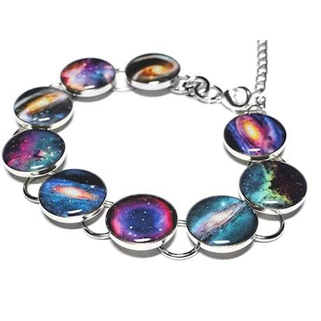 Space Bracelets- Galaxy