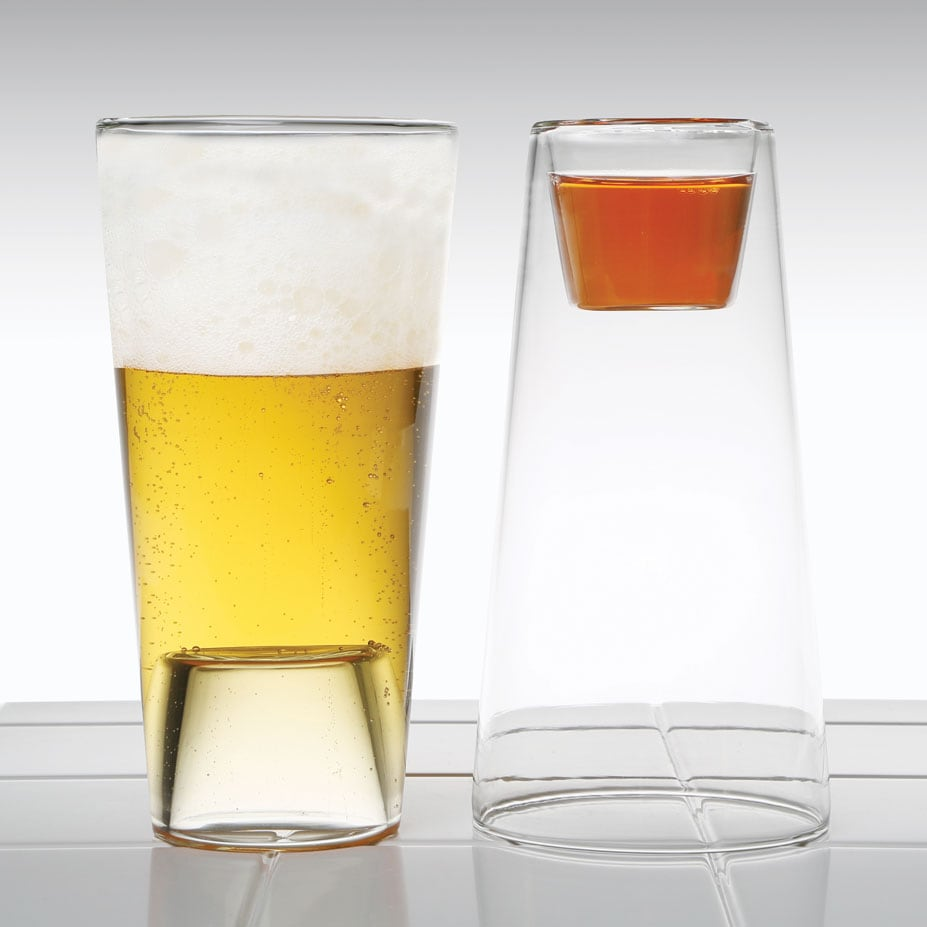 Pint & Shot Glass / Votive Holder