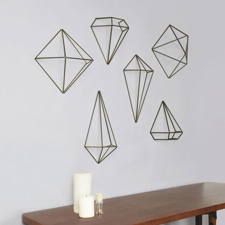 Prisma 3D Geometric Home Decor Set