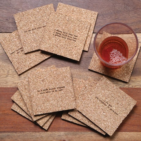 Mistaken Lyrics Coaster Set - Greatest Hits