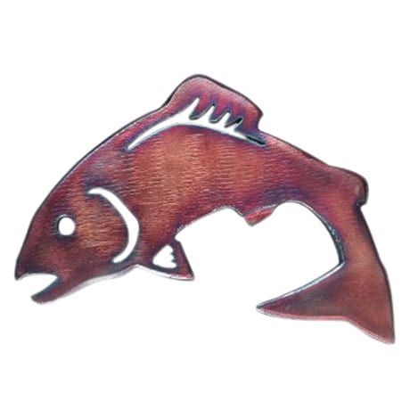 Steel Fish Bottle Opener