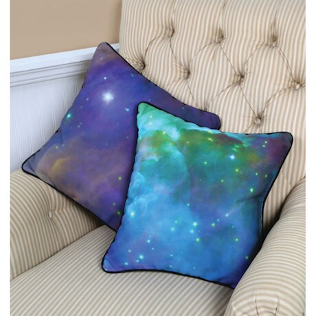 Galactic Pillow - Green Nebula