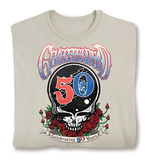 Grateful Dead Celebrating 50 Years Tee