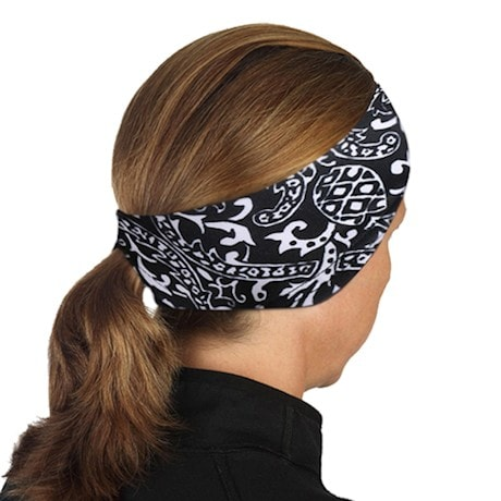 Ponytail Headbands- Black & White