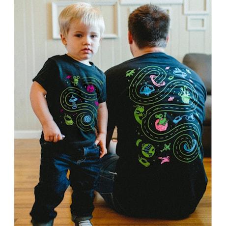 Space Mat Play Shirt Set (Adult+ Kid)