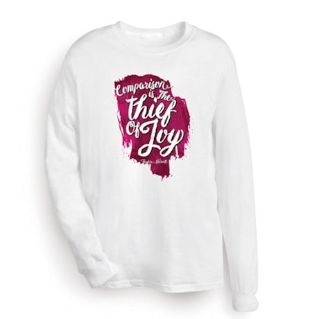 Comparison Thief of Joy Shirt