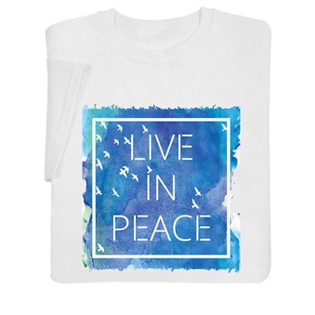 Live in Peace Shirt