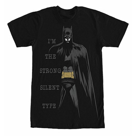 Batman Silent Type