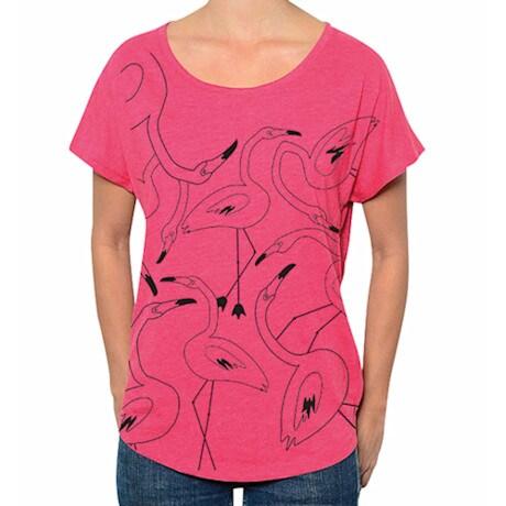 Flamingos Dolman Tee