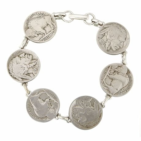 Heads & Tails Nickel Bracelet