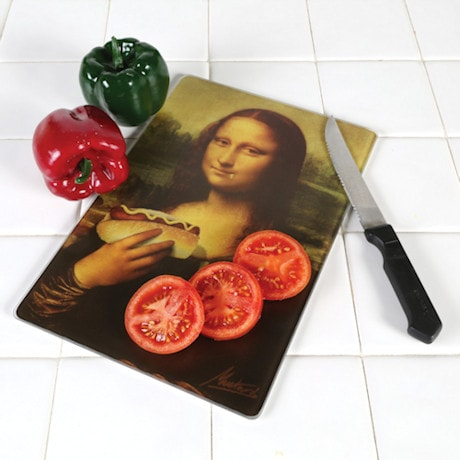 Mona Lisa Cutting Board