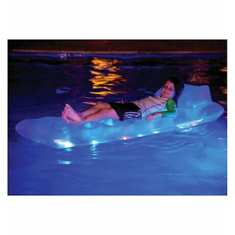 Illuminated Pool Raft