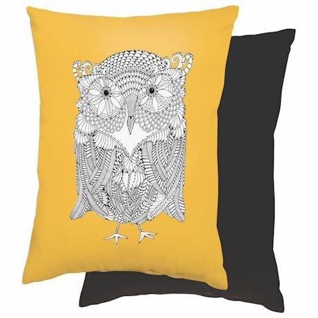 Color It Pillows- Owl