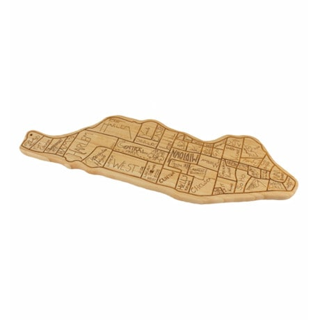 City Life Cutting Board - Manhattan