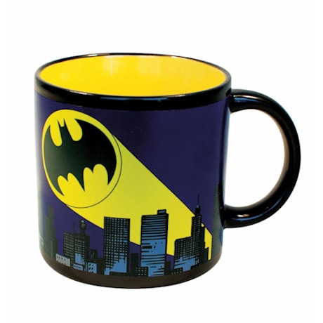 Heat-Activated Supermug - Batman