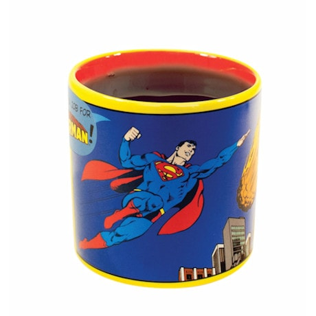 Heat-Activated Supermug - Superman