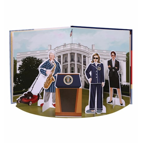 Hillary Paper Dolls Book