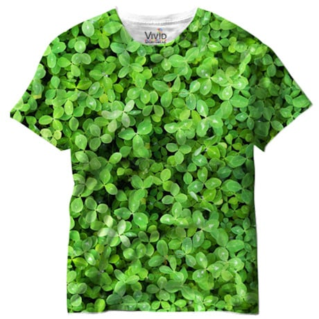 Sublimated Shamrock Tee