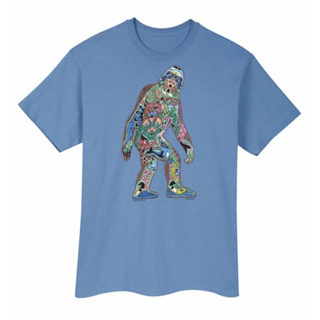 Sasquatch Sketch Art Tee