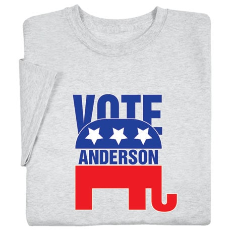 "Personalized ""Your Name"" Election - Elephant Shirt"