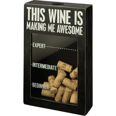 This Is Making Me Awesome - Wine Corks