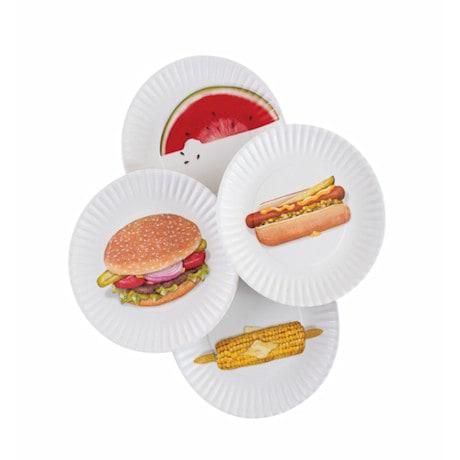 Picnic Plates Set Of 4