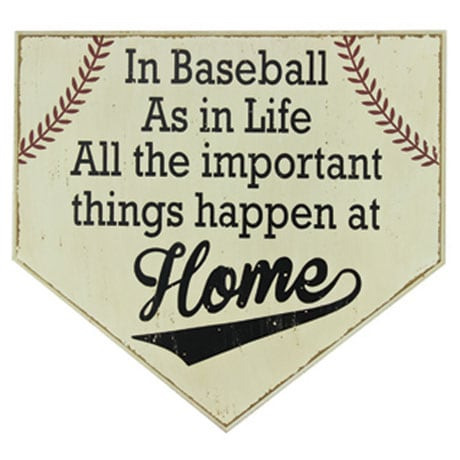 Homeplate Wall Decor