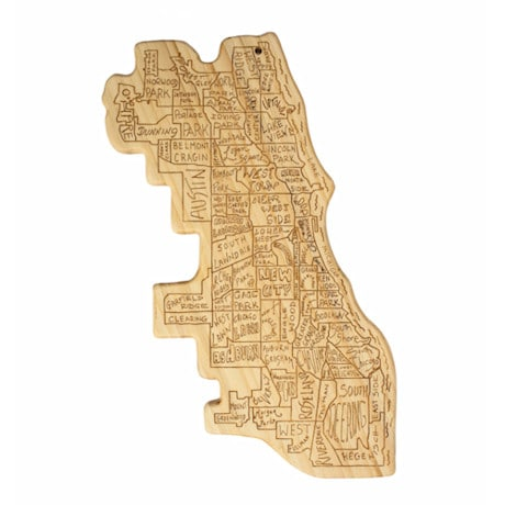 City Life Cutting Board - Chicago