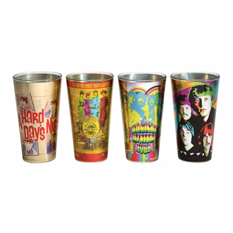 Radio Days Beatles Pint Set