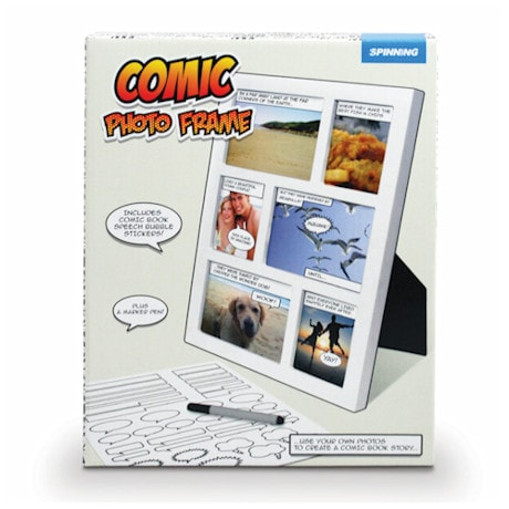 Comic Strip Photo Frame