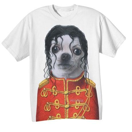 Pets Rock King of Pup Pop Star Dog T-Shirt