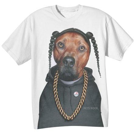 Pets Rock Rap Star Doggy-Dog  T-Shirt