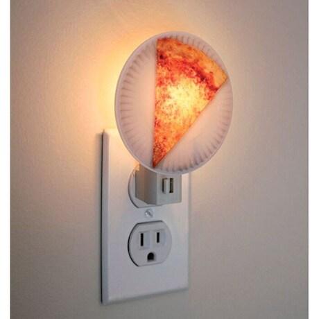 Pizza Slice Night Light