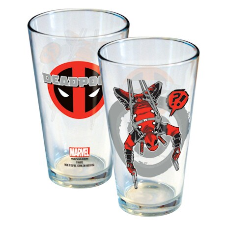 Deadpool Pint Set / 2