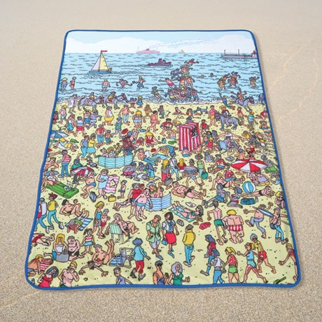Where's Waldo Beach Blanket