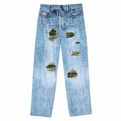 Camo Denim Lounge Pants