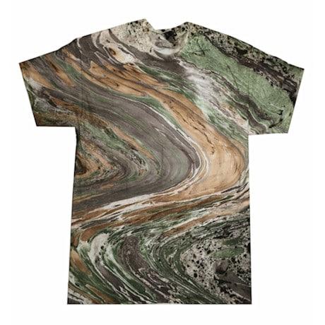 Marble Tie Dye Tee - Camo