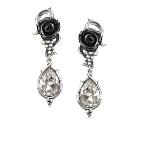 Rose Bud Earrings