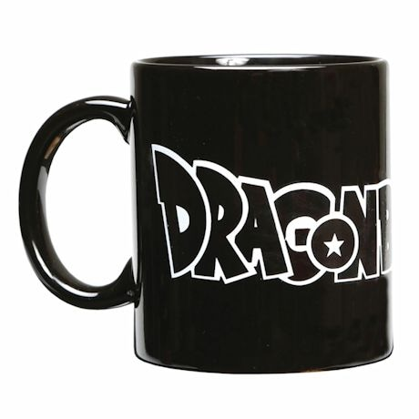 Exclusive Dragon Ball Z Logo And Character Magic Heat-Changing Mug 12 Oz Ceramic