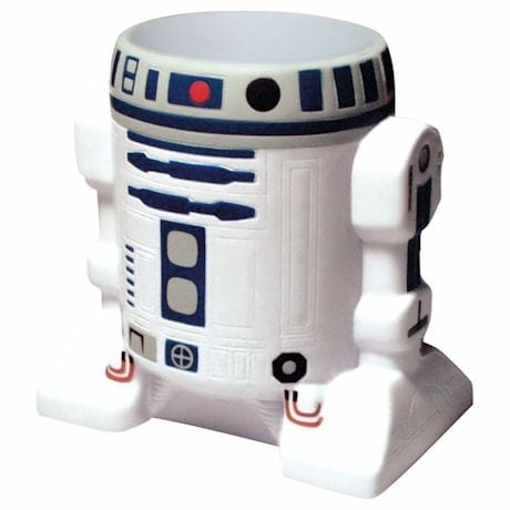 Star Wars Force Awakens Artoo R2D2 Formed Foam Huggie Can Cooler And Coozie