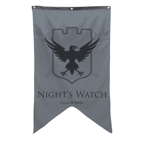 The Night's Watch Sigil Banner
