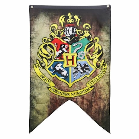 Harry Potter Hogwarts Flag