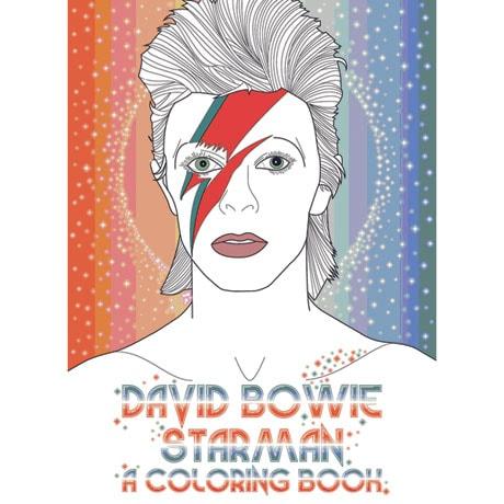 David Bowie Starman Coloring Book